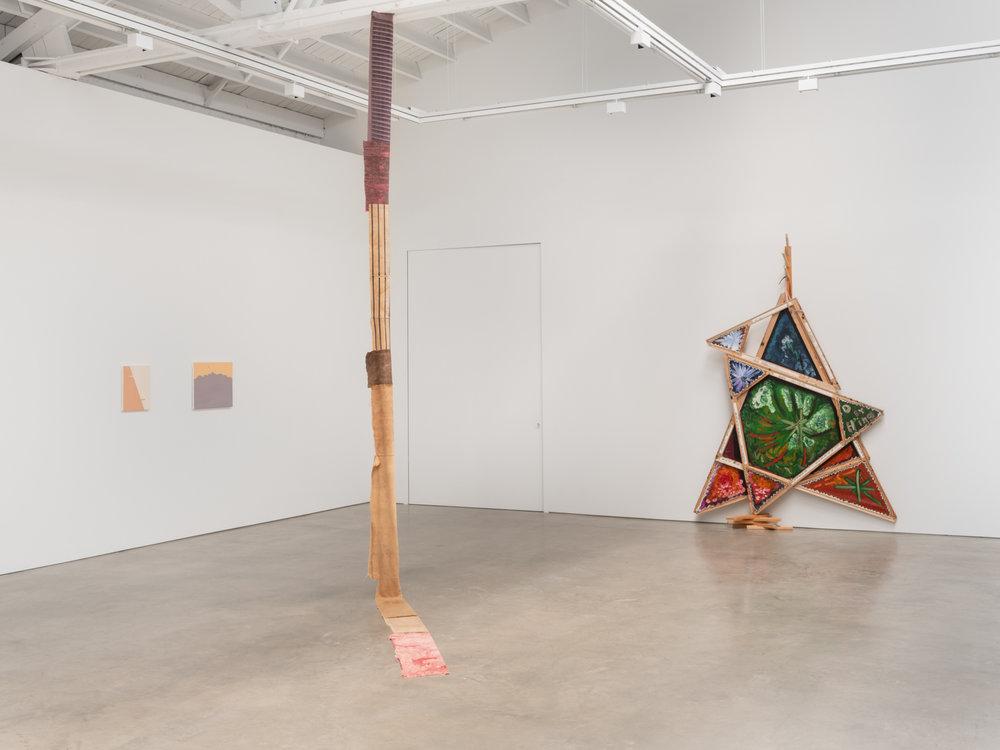 Mike Cloud, Peter Fagundo, Joseriberto Perez, Leonard Suryajaya, Alice Tippit 2018 Installation view Shane Campbell Gallery, South Loop