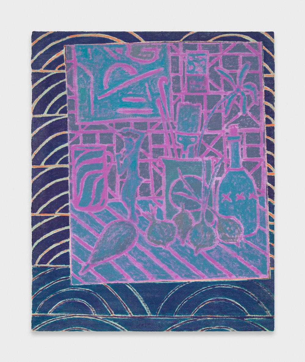 John McAllister  Some Celestial Serenade  2012 Oil on canvas 21h x 17w in JCM004