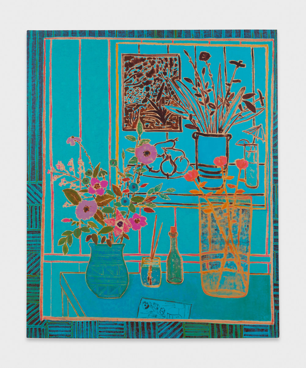 John McAllister  Storm Gale Was Heard  2013 Oil on canvas 41h x 33 ½w in JMC012