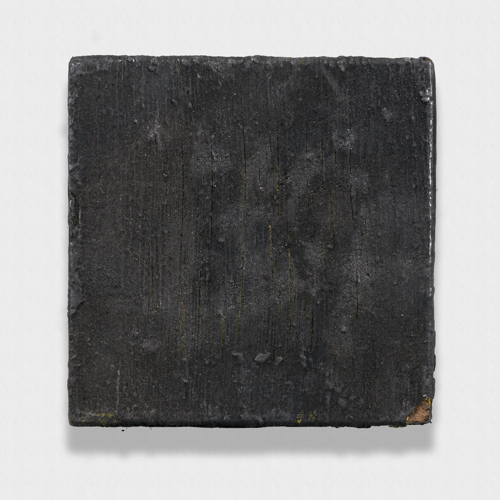 Tony Lewis  Bump and Grind  2011 Oil and powdered graphite on canvas 6 ½h x 6 ½w x 1d in TL125