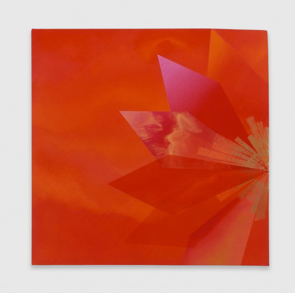 Kim Fisher  Padparadscha, 14   2004 Oil on linen 29h x 29w in KF007