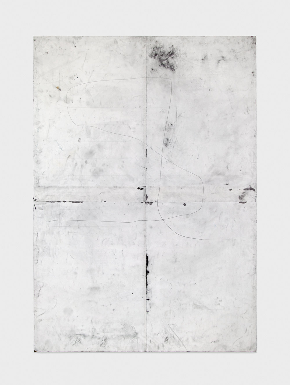 Tony Lewis –––––––– 2012 Pencil and graphite powder on paper 84h x 60w in TL010