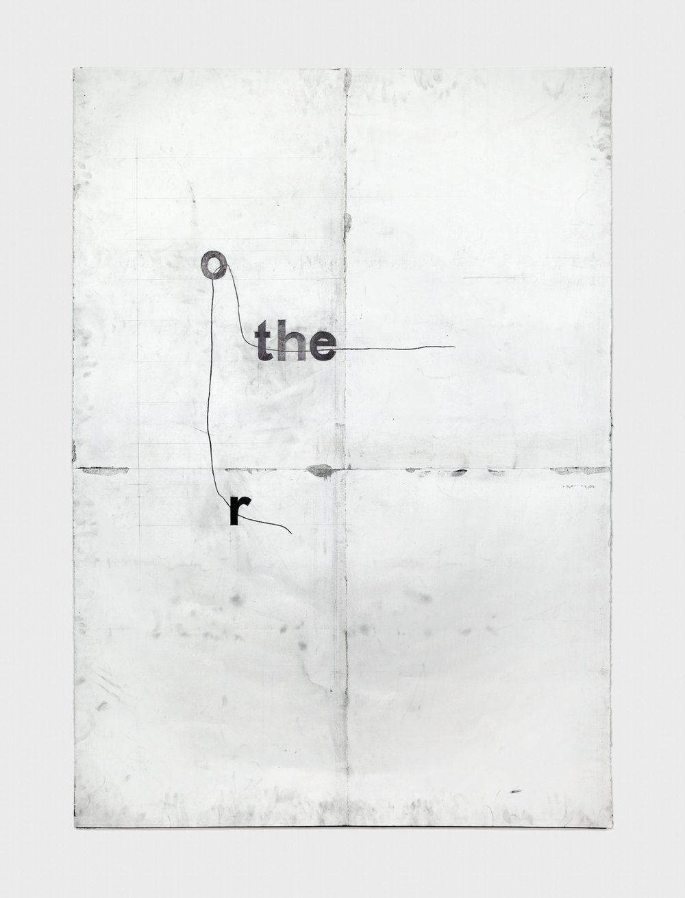 Tony Lewis  rothe  2012 Pencil and graphite powder on paper 84h x 60w in TL002
