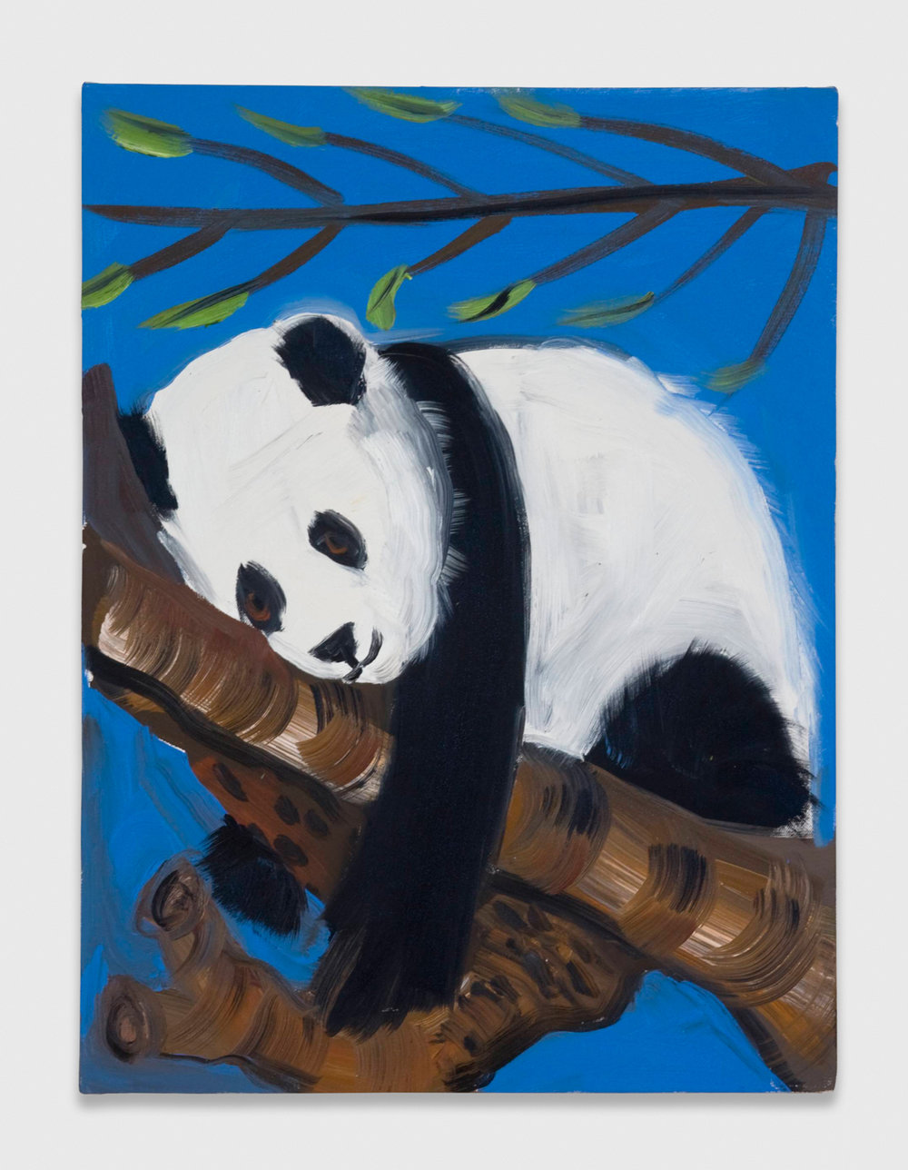Ann Craven  Panda  2008 Oil on canvas 24h x 18w in AC039