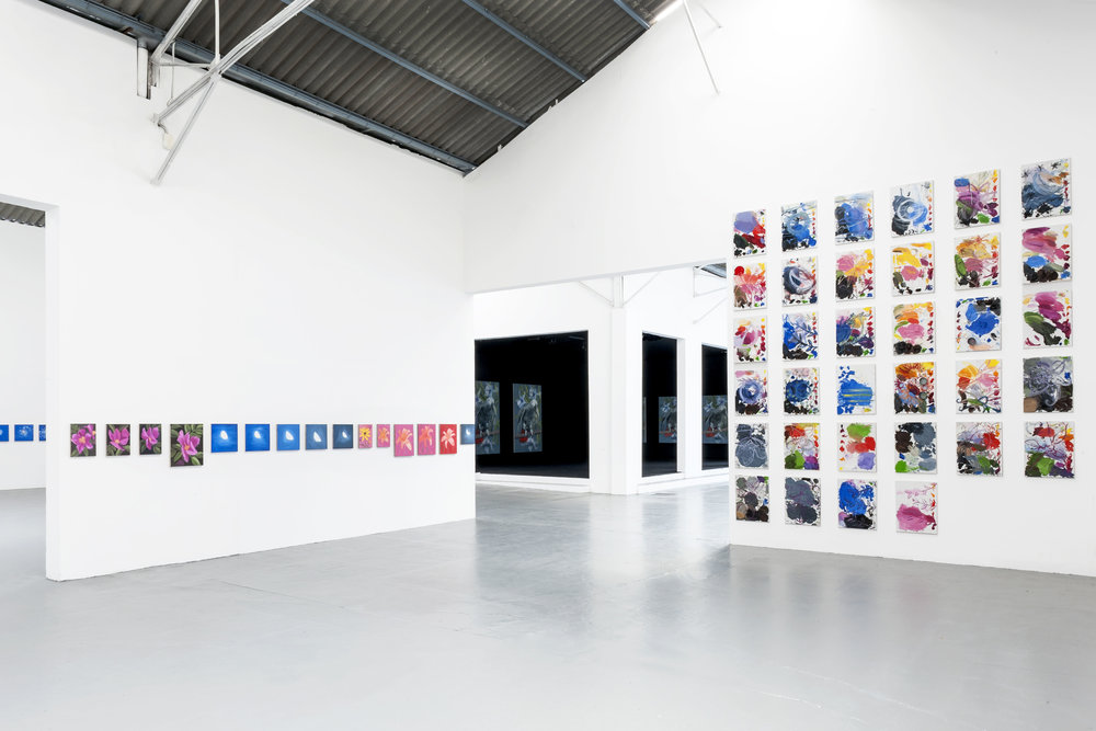 Ann Craven  Time  2014 Installation view Le Confort Moderne Poitiers, France