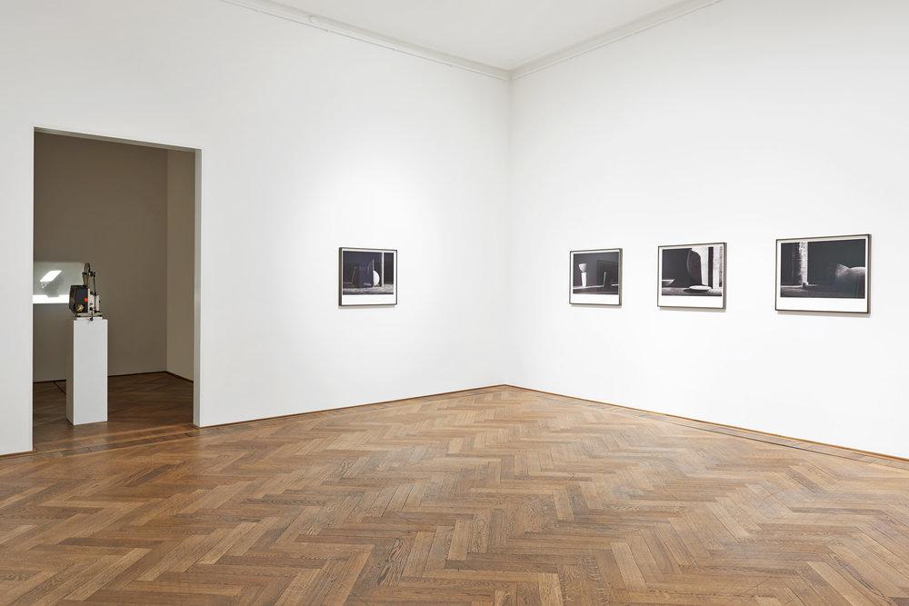 Erim Shirreff  Halves and Wholes  2016 Installation view Kunsthalle Basel Basel, Switzerland