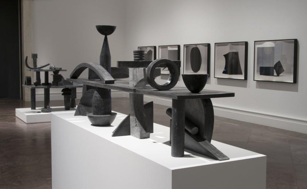 Erin Shirreff 2016 Installation view Albright-Knox Art Gallery Buffalo, NY