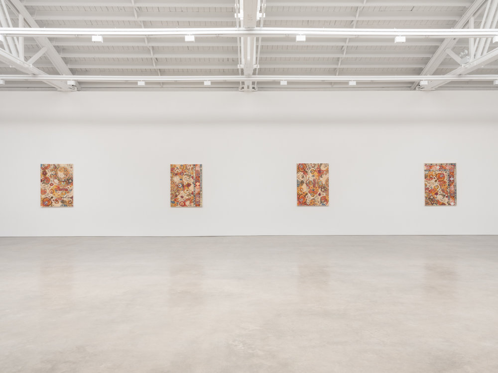 Kour Pour  Abrash  2018 Installation view Shane Campbell Gallery, South Loop
