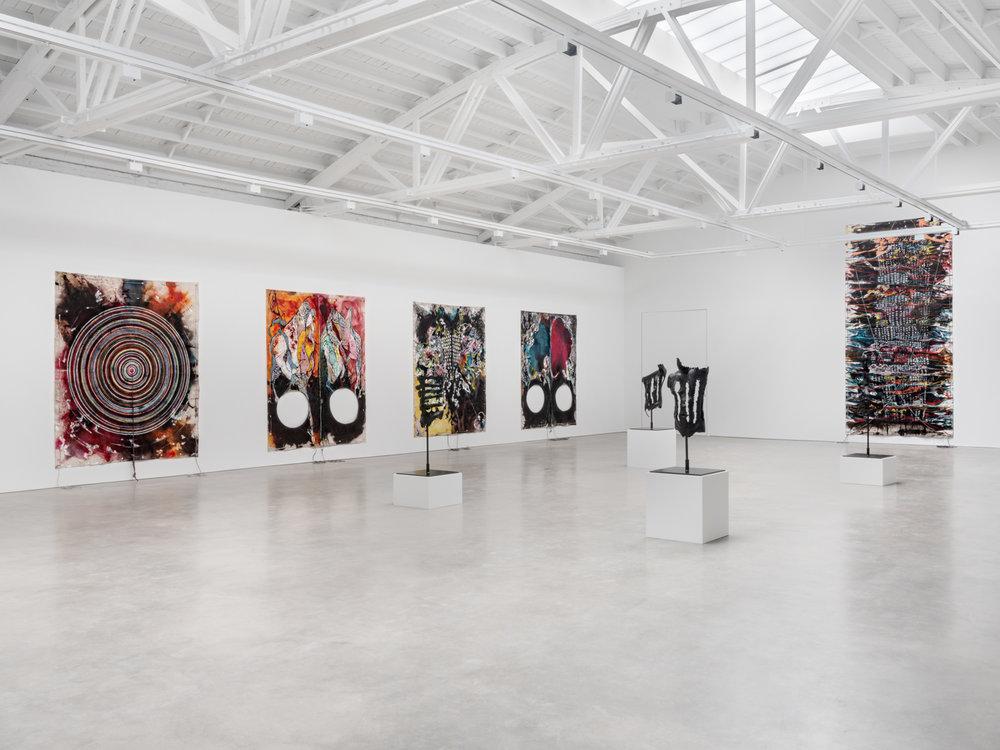 Naotaka Hiro  Breaking the Waves  2018 Installation view Shane Campbell Gallery, South Loop