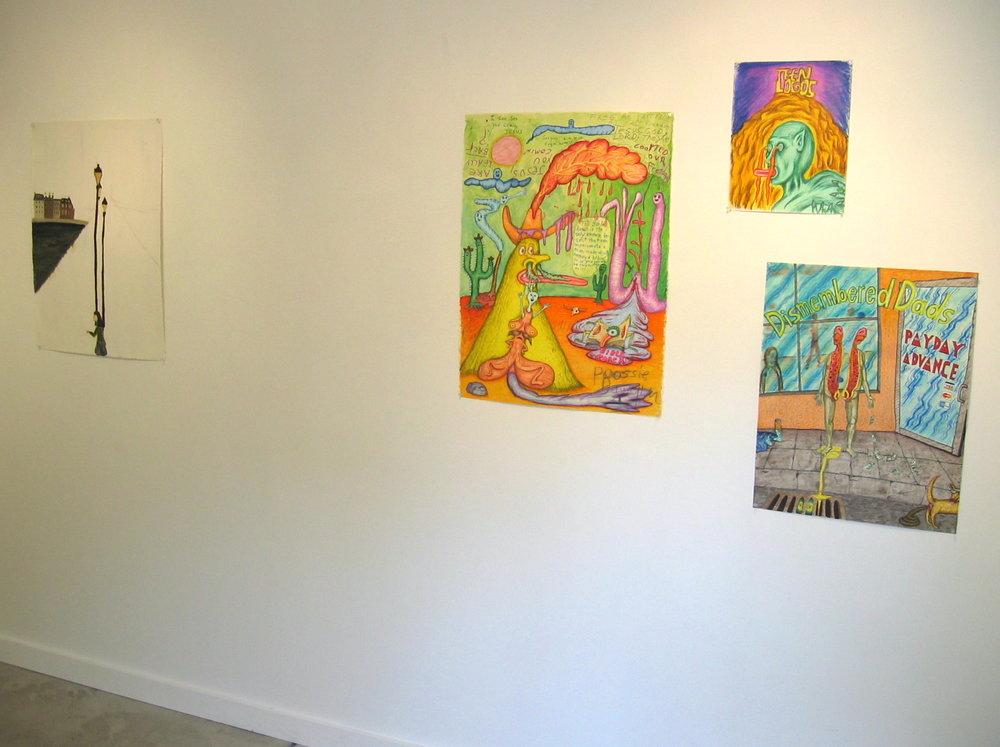 Carrie Gundersdorf 2005 Shane Campbell Gallery, Oak Park Installation view