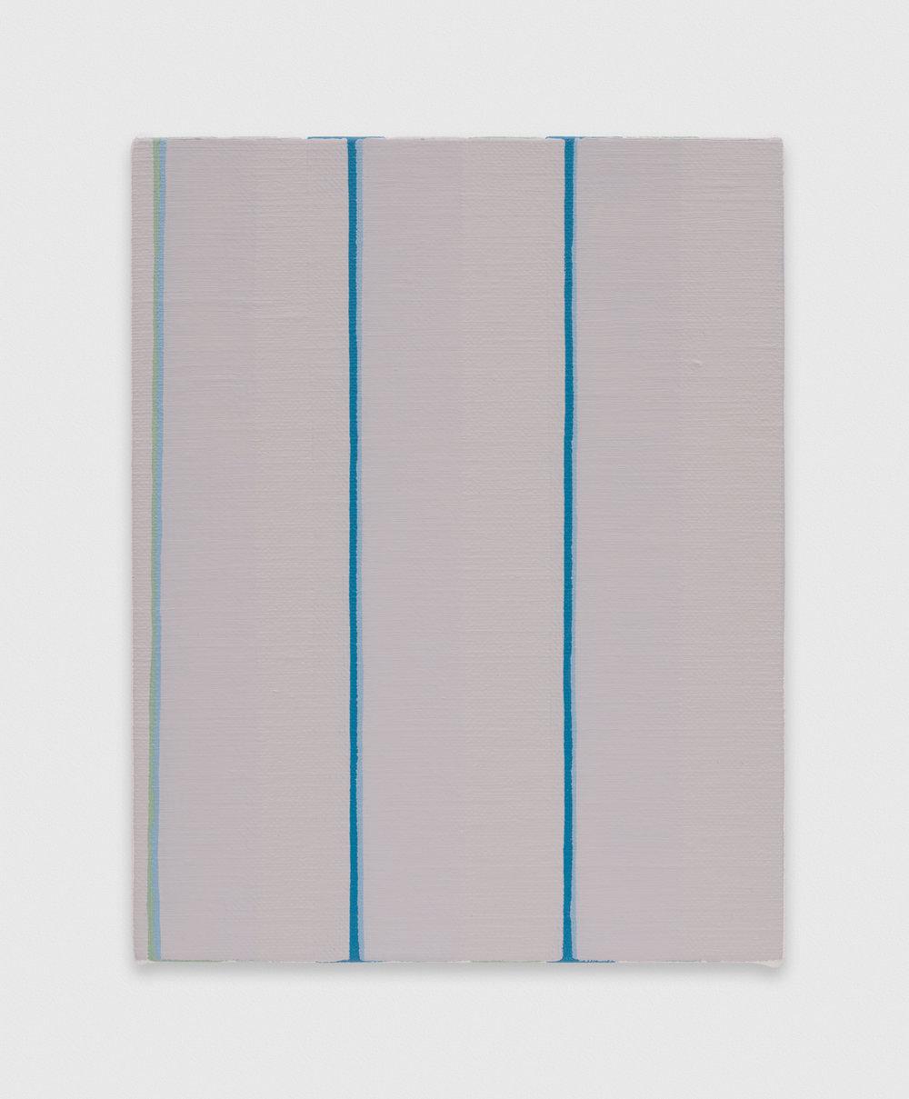 YuiYaegashi  untitled  2018 Oil on canvas 9 1/2h x 7 1/2w in YY125