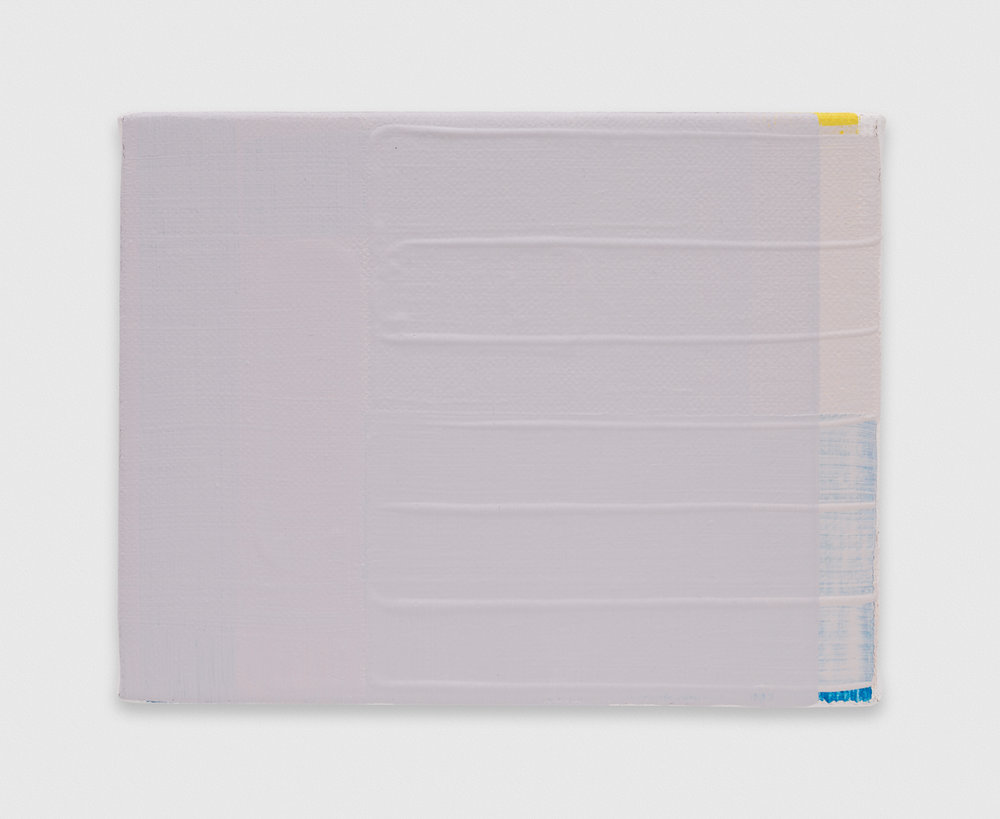YuiYaegashi  Untitled  2018 Oil on canvas 5 1/2h x 7 1/4w in YY115