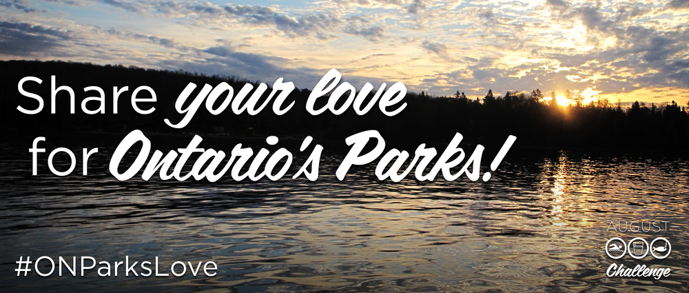 Post YOUR photos on Twitter with the hashtag #ONParksLove! (Photo: Algonquin Park)