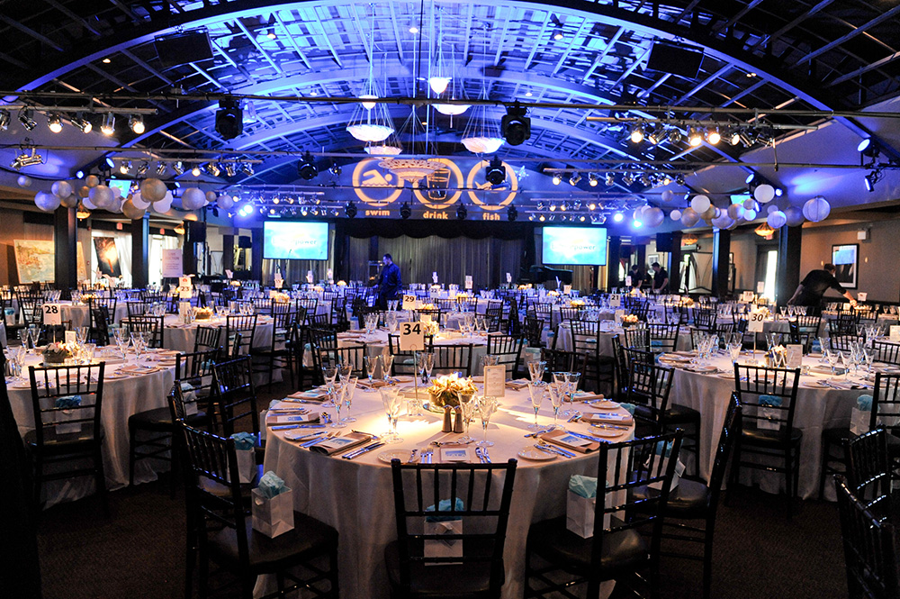 Setting up for the 2014 Waterkeeper Gala. (Photo: Lake Ontario Waterkeeper)