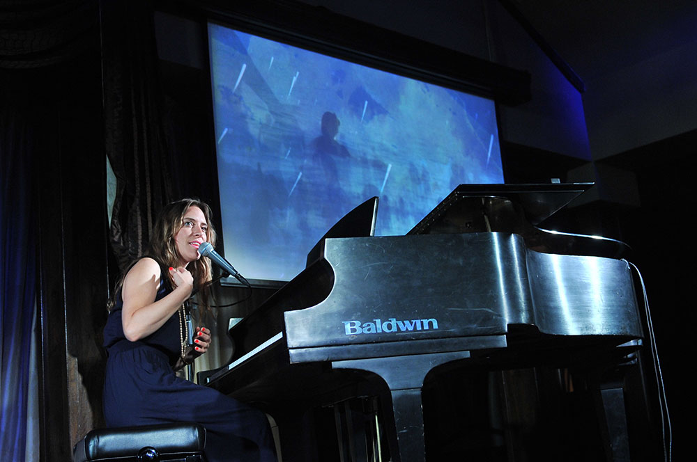 Feist performing at the 2014  Waterkeeper Gala  in Toronto. (Photo: Lake Ontario Waterkeeper)