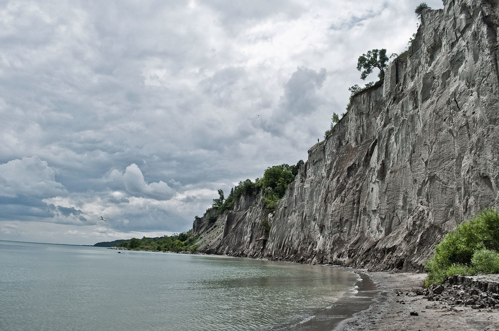 how to get to the bottom of the scarborough bluffs