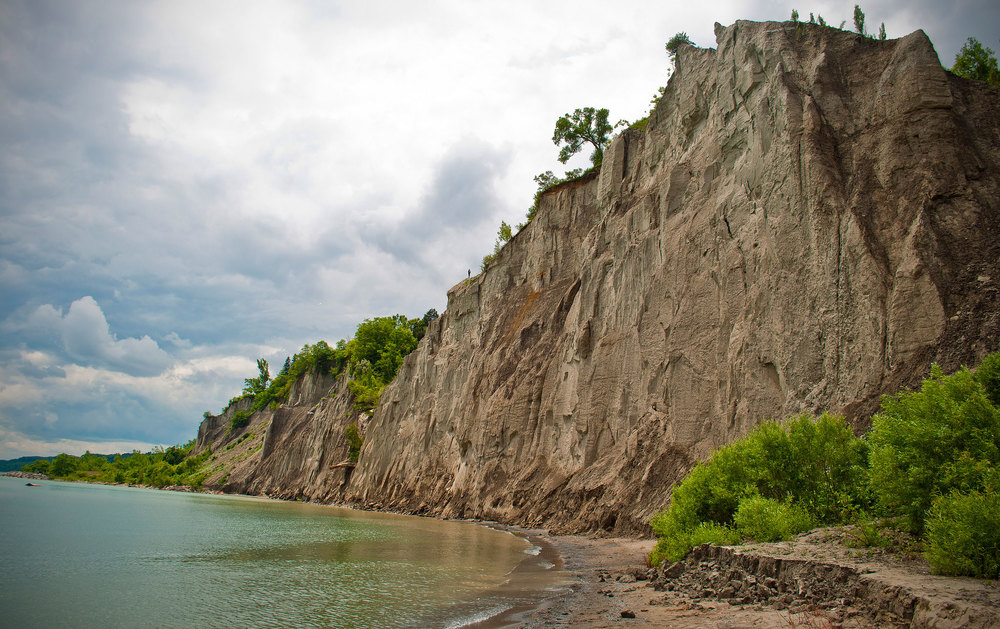Scarborough Bluffs landscape. (Photo by Philip Li)