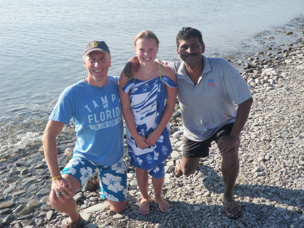 L.O.S.T. Swimmers: Rob Kent, Annaleise Carr, and Madhu Nagaraja. (Photo via  L.O.S.T. Swimming )