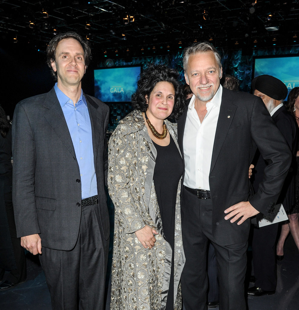 Edward Burtynsky, Jennifer Baichwal, and Nick DePencier at the 2015 Waterkeeper Gala Toronto. (Photo by Lake Ontario Waterkeeper)