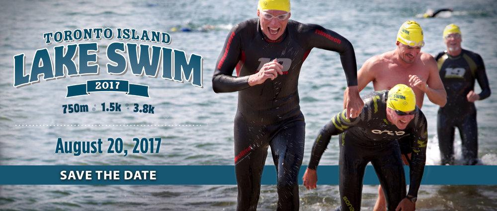 Toronto Island Lake Swim 2017
