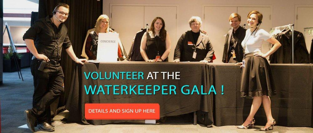 Volunteer at Waterkeeper Gala
