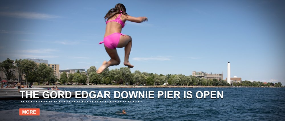 On July 26, 2018 we celebrated the grand opening of Breakwater Park and the Gord Edgar Downie pier in Kingston, Ontario. The park restoration was made possible by a generous donation from The W. Garfield Weston Foundation.