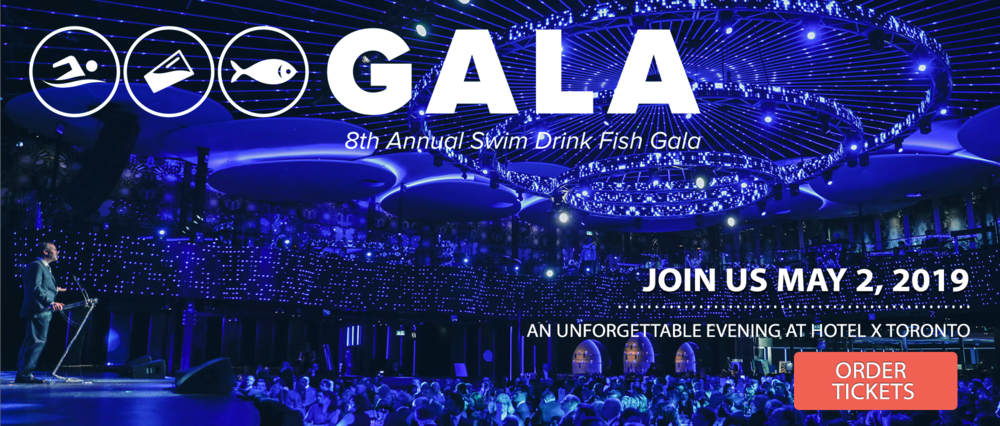 Swim Drink Fish Gala - Toronto 2019