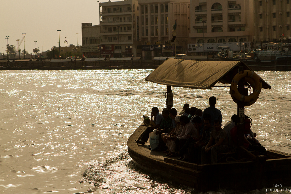 Abra - Dubai Creek, United Arab Emirates