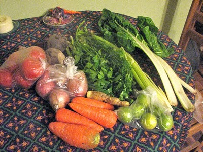 Fresh produce from my neighborhood market (all for under $4!)