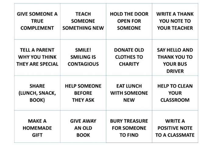 kindness activity