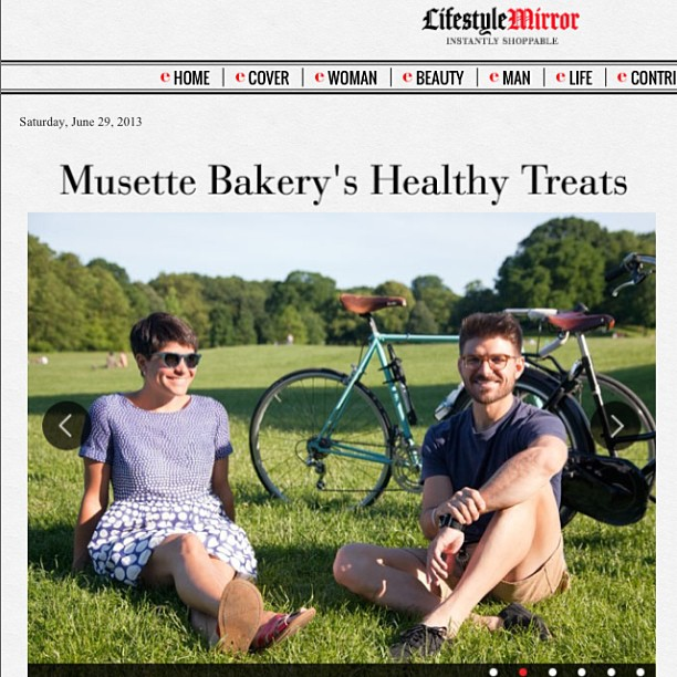 Just in time for Le Tour de France, we're featured @lifestylemirror today: http://www.lifestylemirror.com/life/food-drink/201448689/musette-bakery-healthy-treats-cyclists/ .  Love this piece, and feeding all of you!