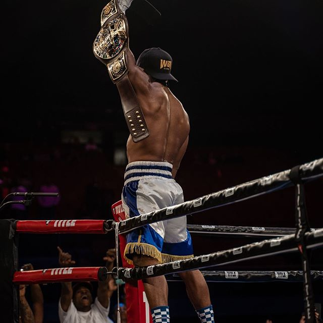 I am the season 5 contender champion. I will represent us all in fashion every time I get in there and put on. I want to thank everybody that was apart of this chapter, and glad to say stay tuned for the next one. #history #champion #losangeles #family #brothers #boxing #dedication #motivation #journey #makenoise #beloud #onbehalfofthefederation