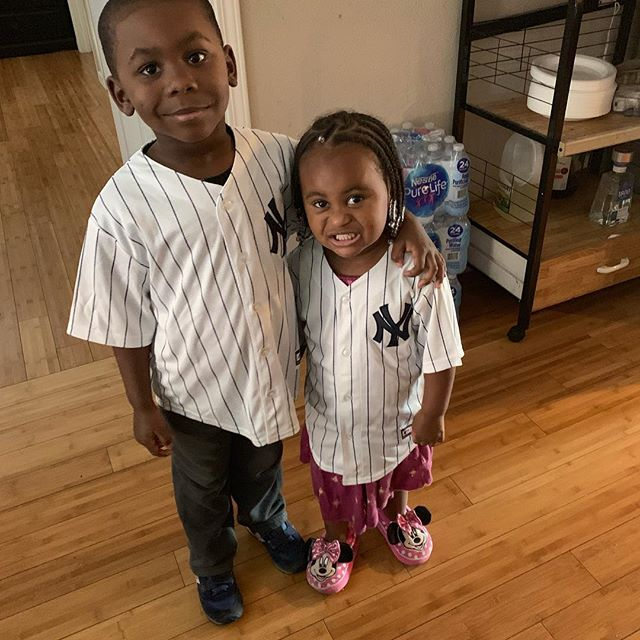 Philly and New York its been fun but, now back to these monsters #lol #greattimes #traveling #yankees #home #kids #black #white #jersey #thankful #grateful #lifestyle #family #philly #newyork #manhattan #newyorkcity Then back to #california #losangeles #boxing #motivation #beautiful #smile #happy