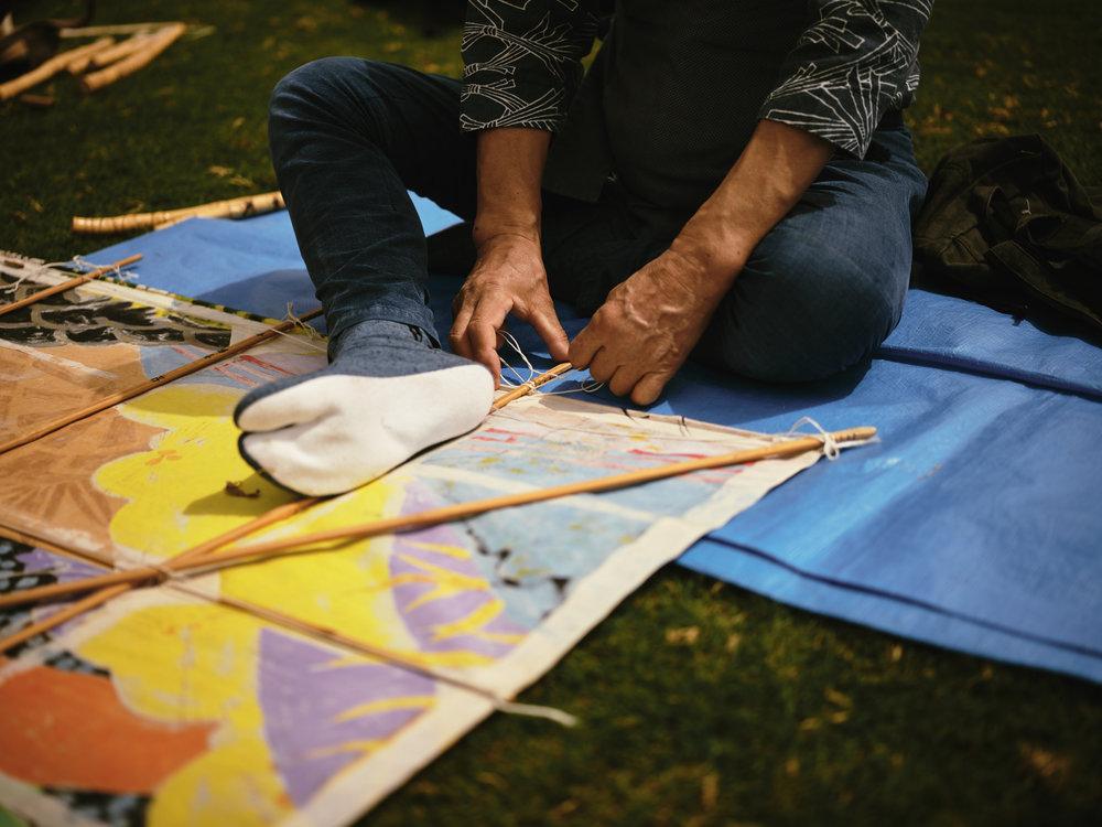 aspire kite festival photography Ohye Makoto
