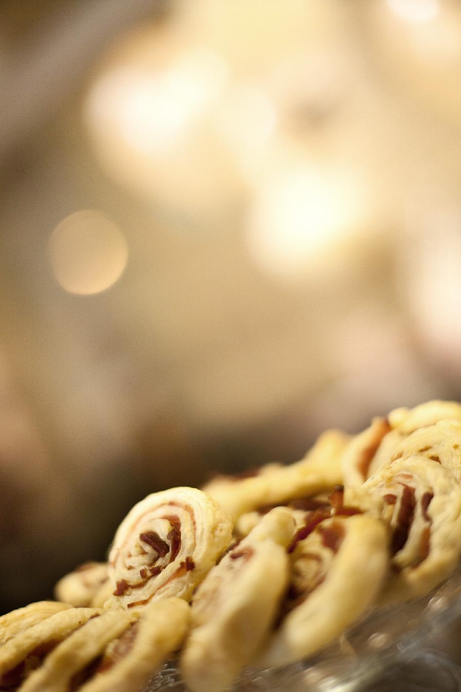 Rollitos de jamón y queso La Petite Brioche