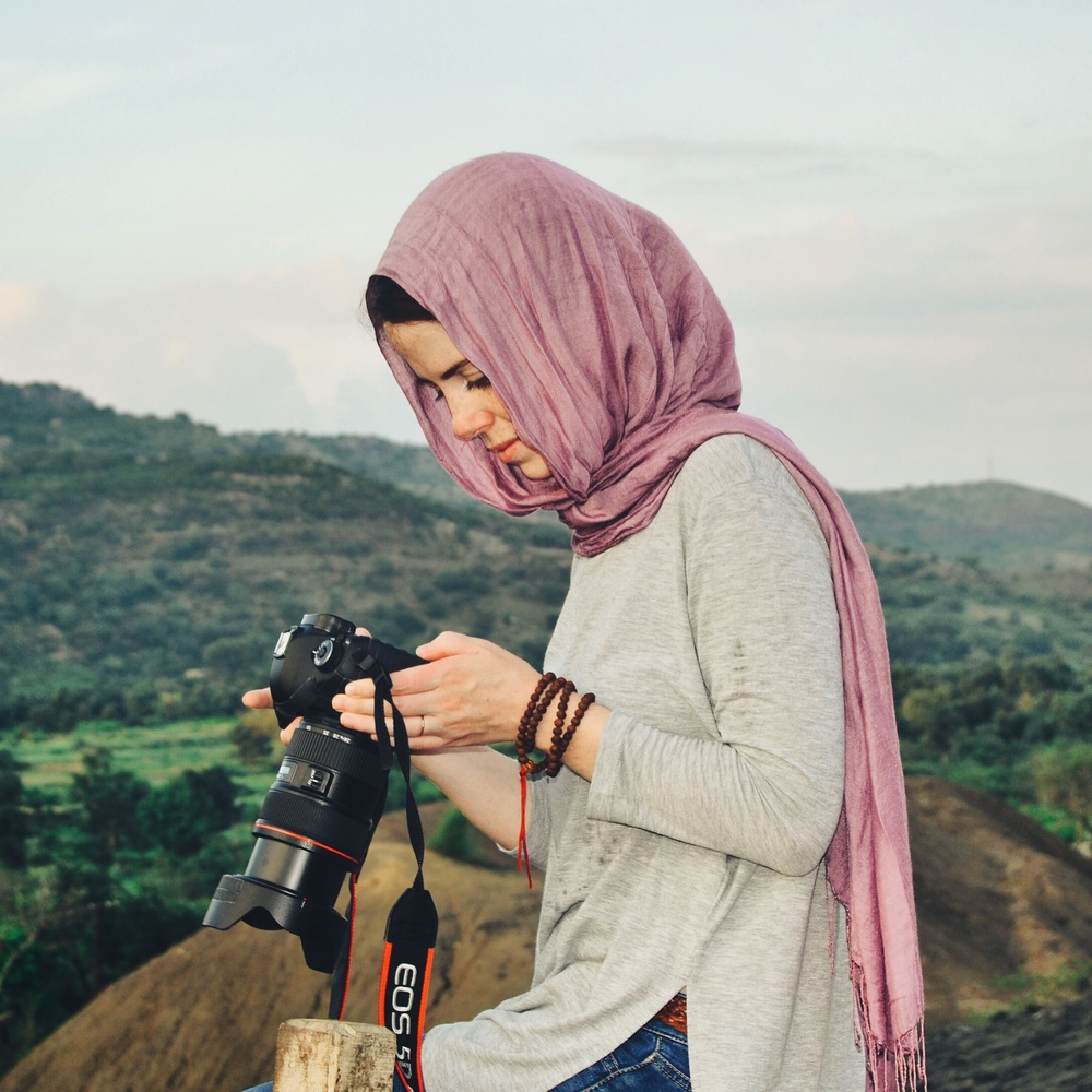 Working as a photographer in Pakistan