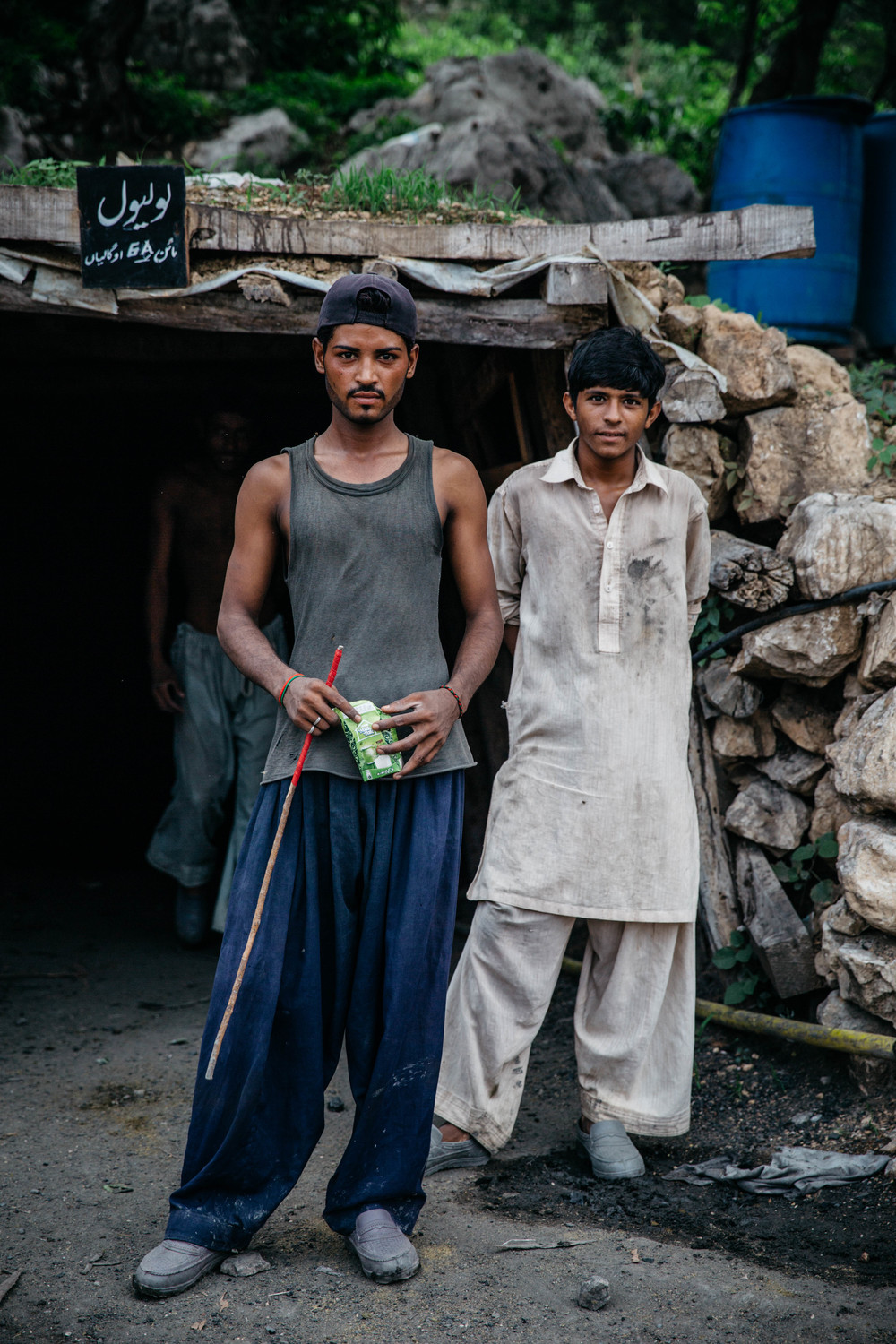 Working as a photographer overseas, Pakistan