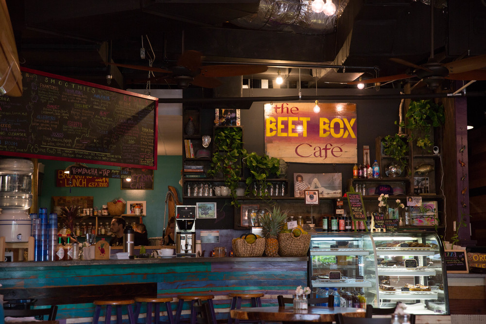 Beetbox cafe, Oahu