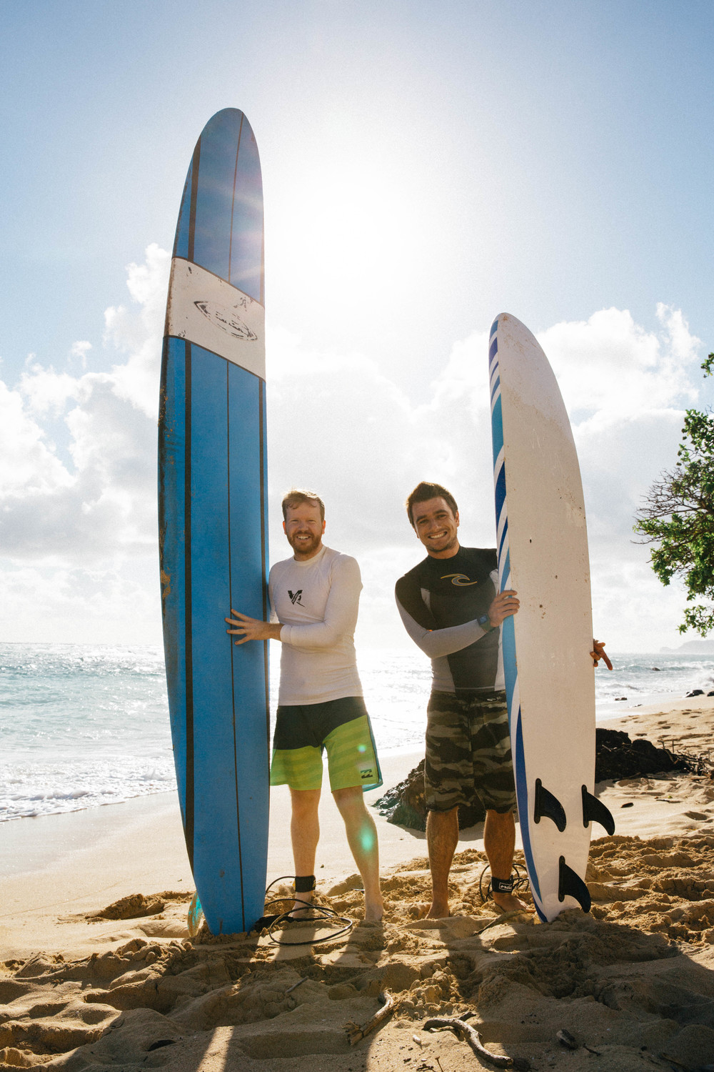 Surfing lessons in Hawaii