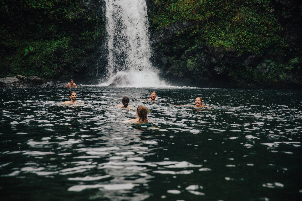 Wild Swimming on Maui