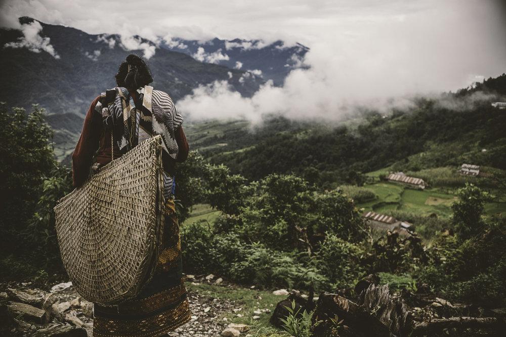 Nepal+Series+#6+Woman+on+Hill+.jpg