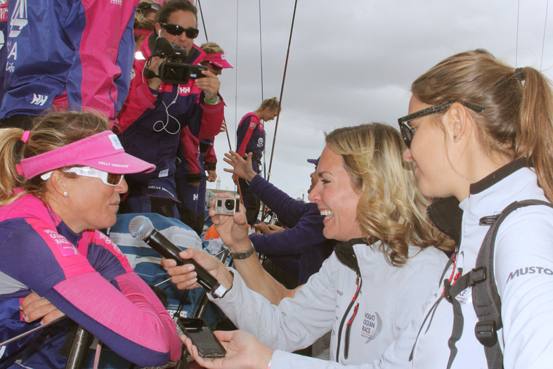 Team SCA's skipper Sam Davies
