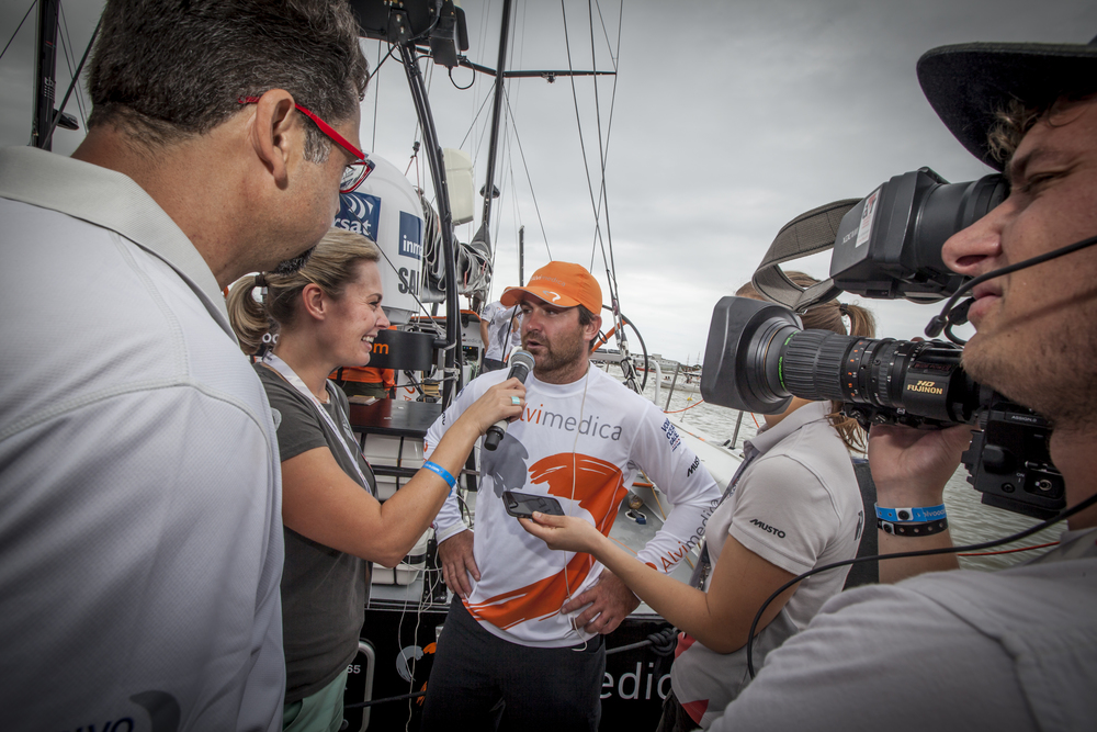 © A Sanchez Volvo Ocean Race 2014/15