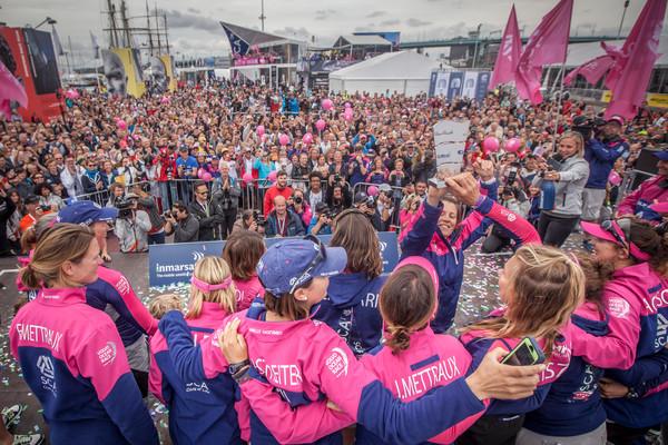 ©ASanchez Volvo Ocean Race 2014/15