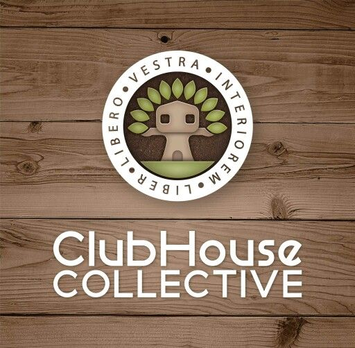 ClubHouse Collective | Logo Design by Corinne Jade
