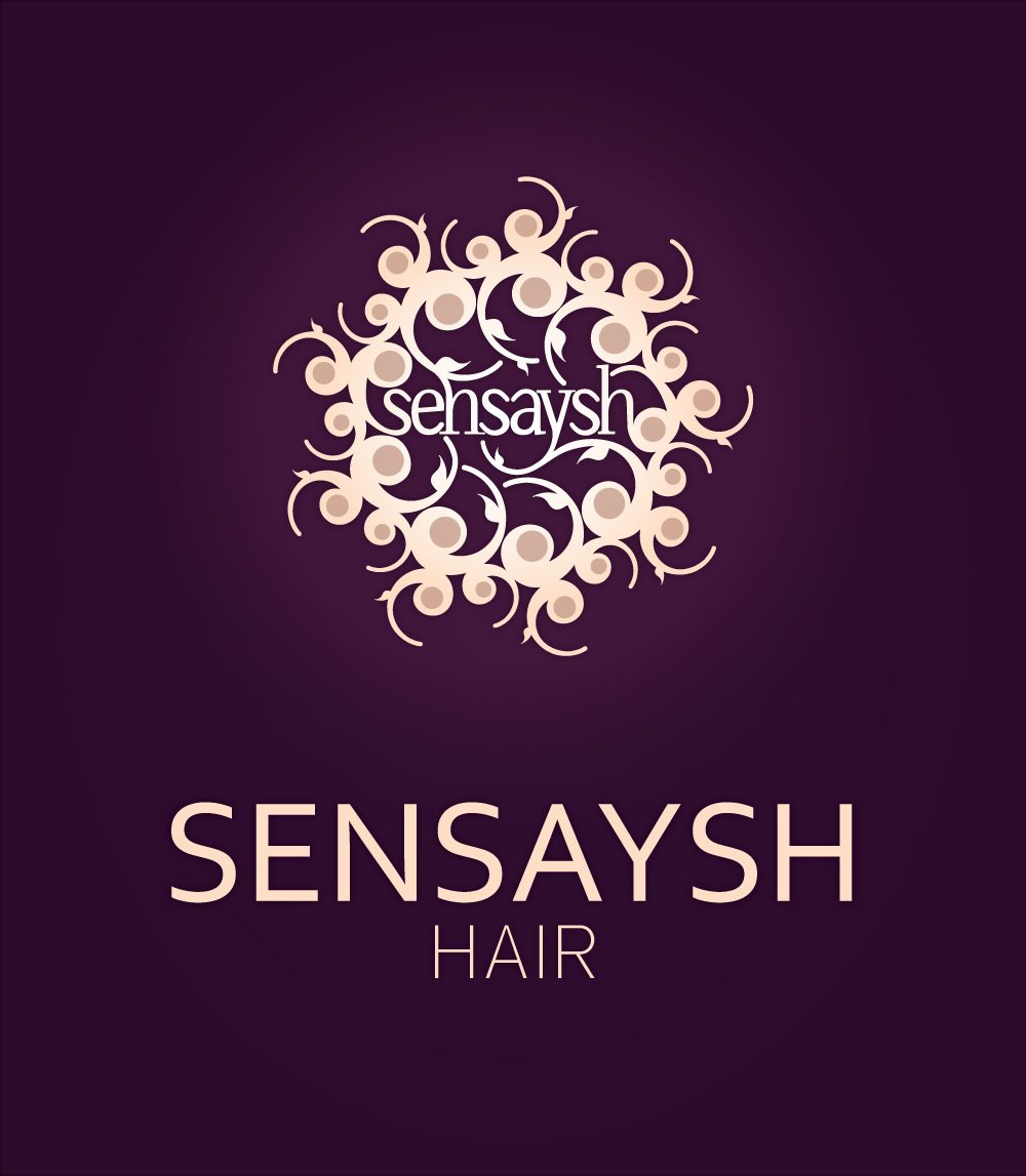 Sensaysh Hair | Logo Design by Corinne Jade