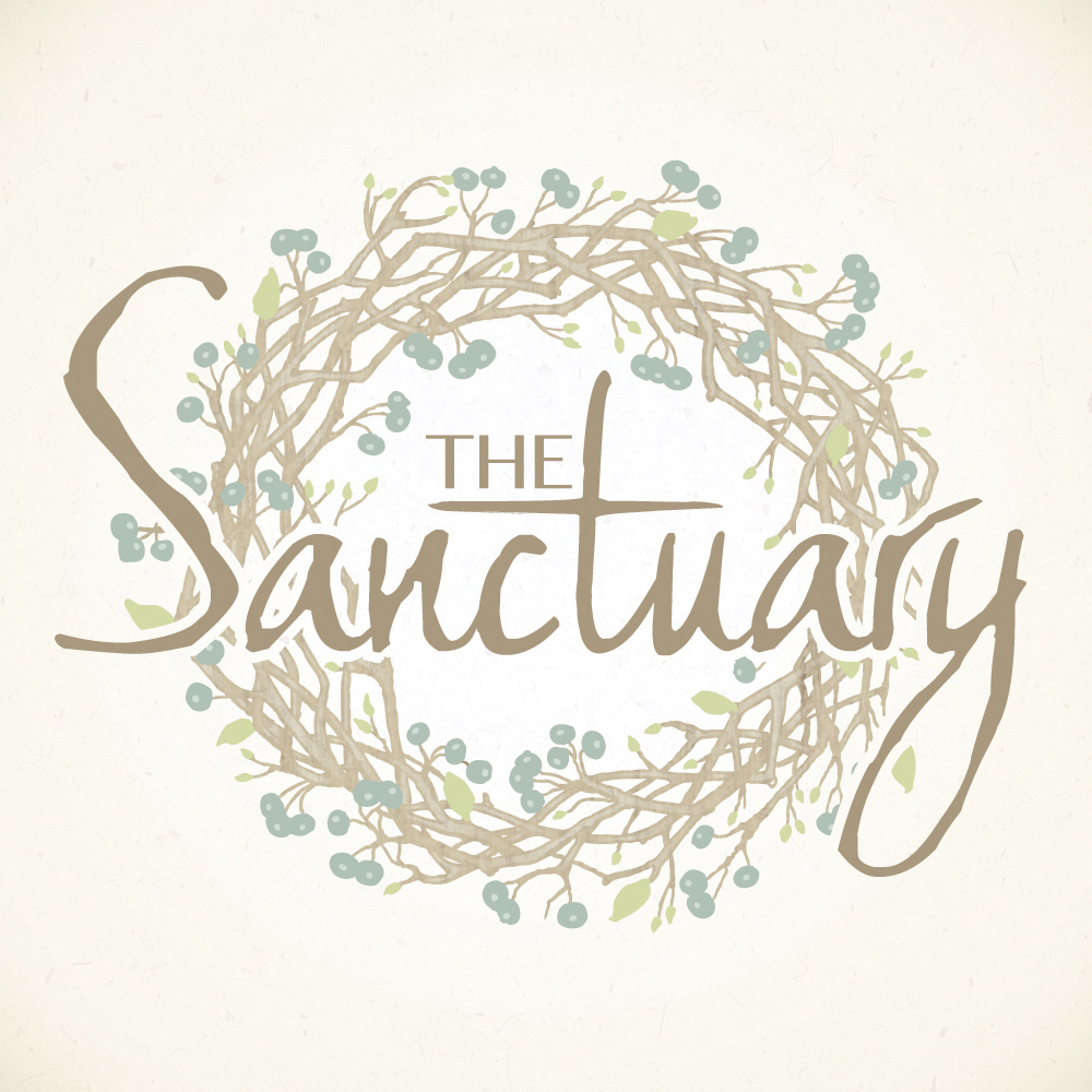 The Sanctuary | Logo Design by Corinne Jade