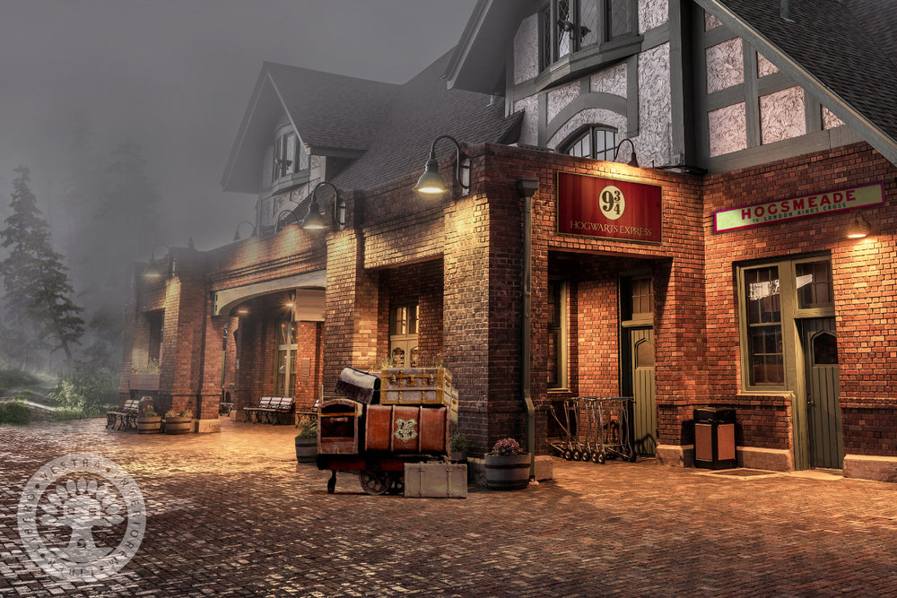 Harry Potter Hogsmeade Station by ClubHouse Collective.jpg