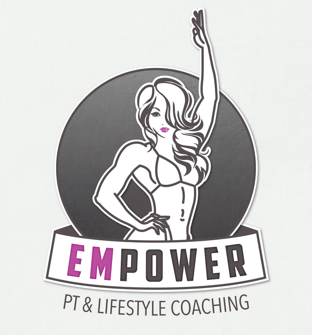 Empower PT & Lifestyle Coaching | Logo Design by Corinne Jade