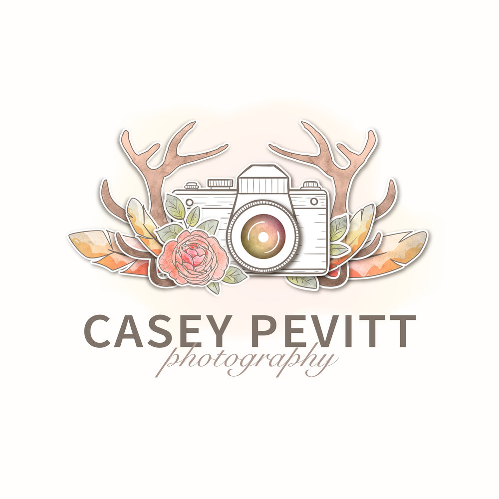 Casey Pevitt Photography | Logo Design by Corinne Jade